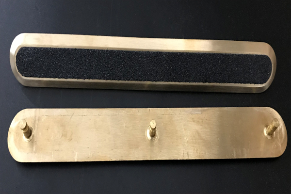 Brass Tactile Indicator Bar & Strips